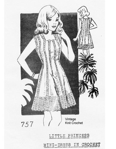 Martha Madison 757, Crochet Dress Pattern