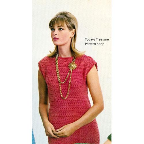 Crochet Star Stitch Dress Pattern