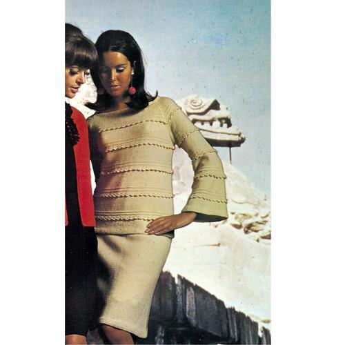 Two Piece Columbia Minerva Dress Pattern