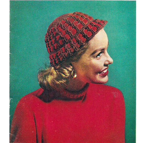 Crochet Cloche Pattern with Ribbon Trim
