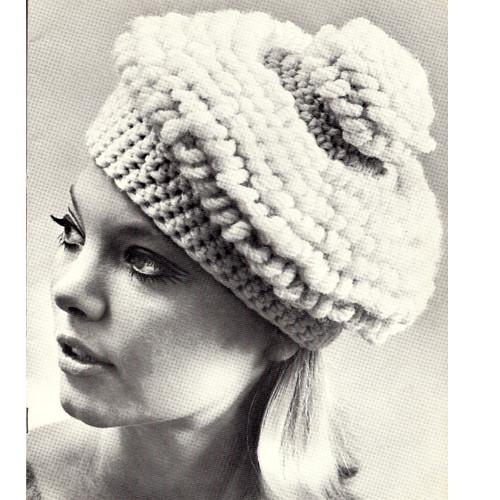 Chunky Beret Crochet Pattern