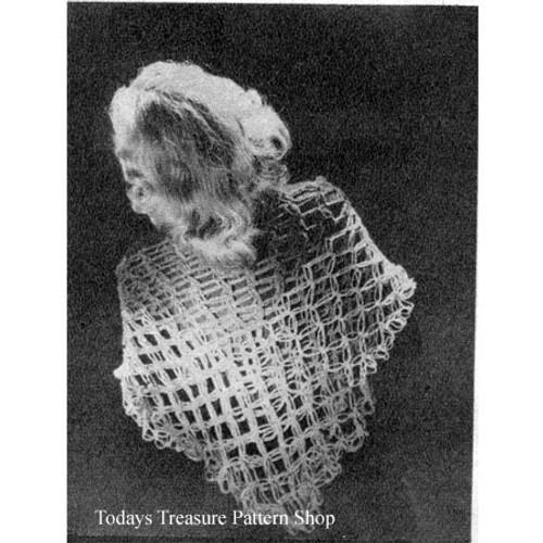 Knot Stitch Crochet Shawl Pattern