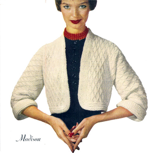 Crochet Waist Length Shrug Pattern