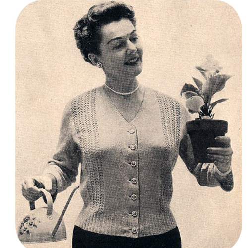 Crochet Plus Size Blouse Pattern