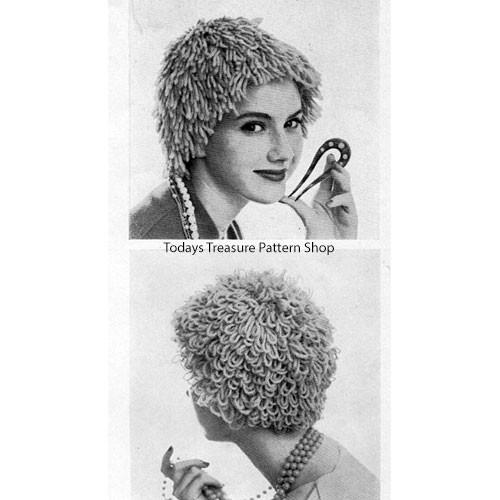 Knitting Pattern, Wig Hats