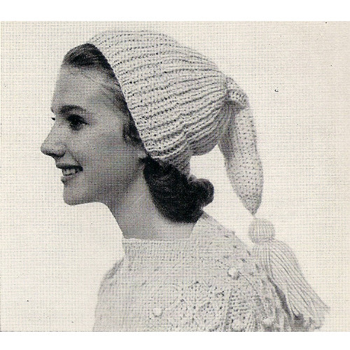 Ribbed Topper Knitting Pattern