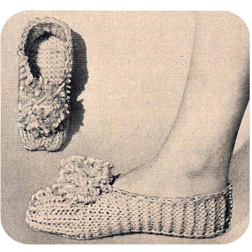 Easy Knit Bed Socks Pattern