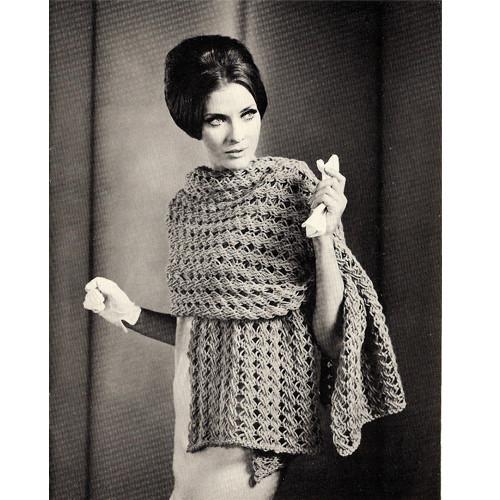 Bulky Stole Knitting Pattern