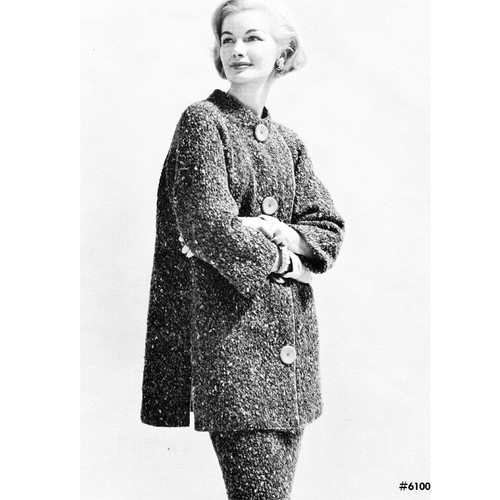 Knitting Pattern, Tweed Walking Suit