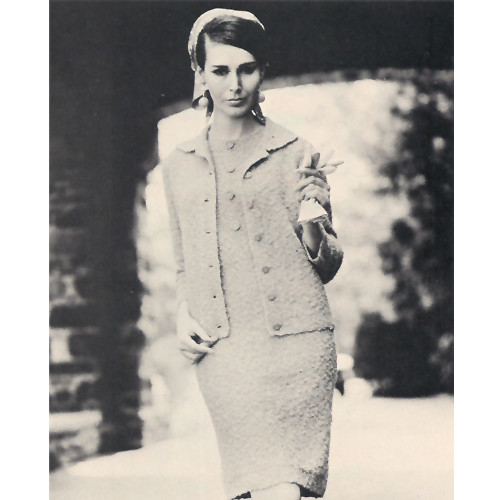 Knit Sheath Dress Jacket Pattern in Win-Lite