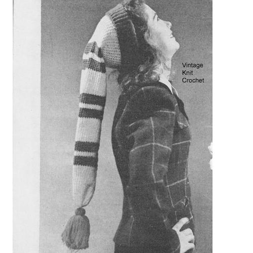 Easy Crochet Stocking Cap Pattern