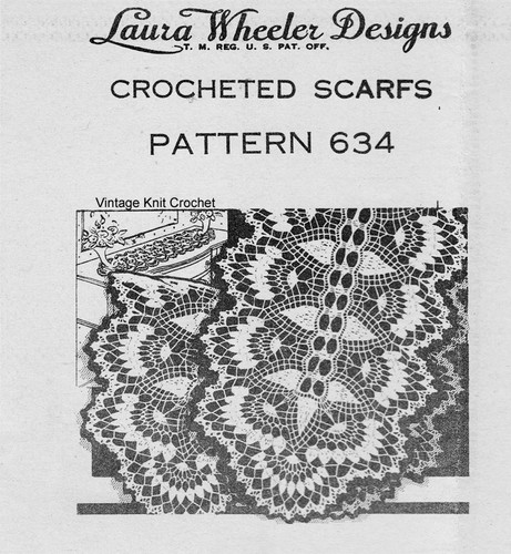 Vintage Crochet Runner Pattern