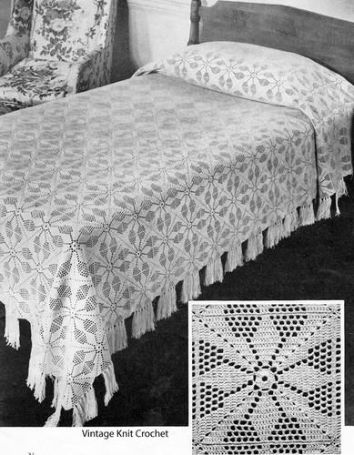 Crochet Vespar Block Afghan Pattern
