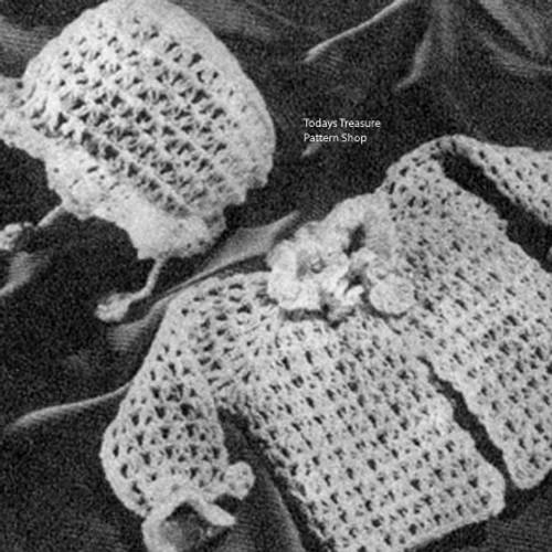 Baby Crochet Jacket Pattern