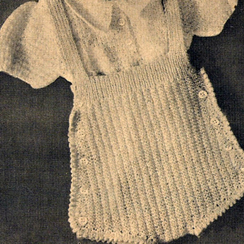 Knitted Baby Creepers Pattern