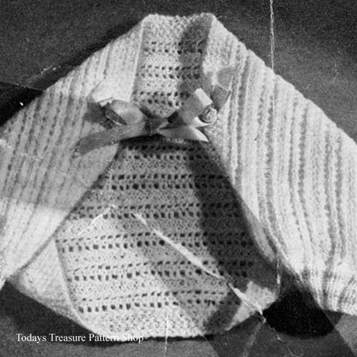 Baby Shrug Knitting Pattern