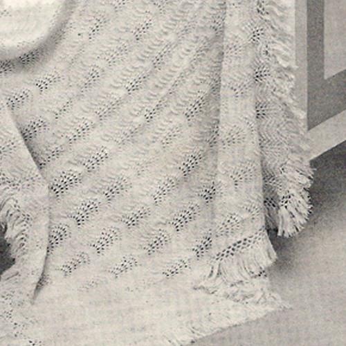 Pretty Knit Baby Blanket Pattern
