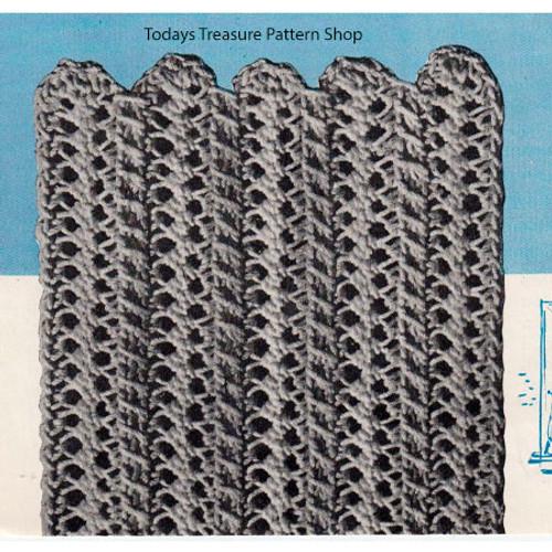 Hairpin Lace Vintage Bedspread Pattern