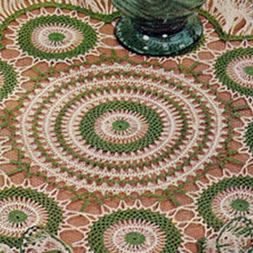 Hairpin Lace Centerpiece Doily Pattern