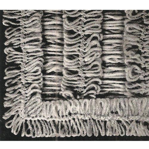 Hairpin Lace Stitch Illustration