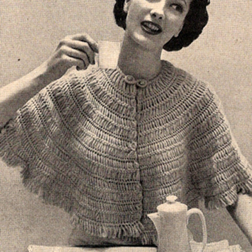 Hairpin Lace Cape Pattern