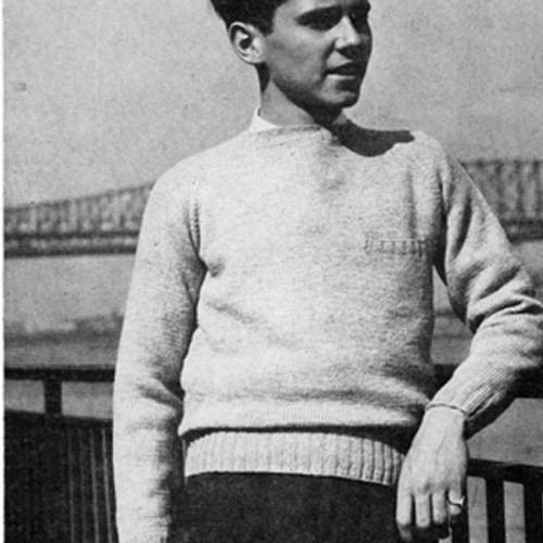 Teen Vintage Knit Raglan Pullover Pattern