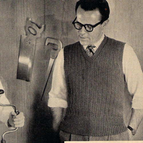 Father Son Vests Knitting pattern
