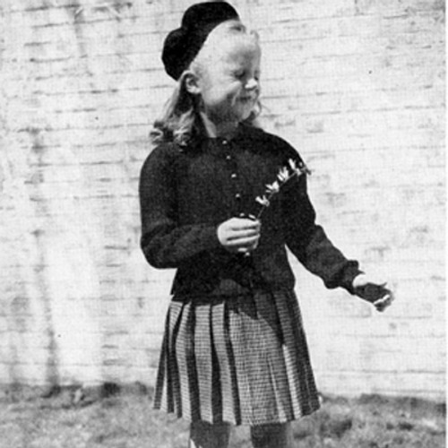 Peplum Cardigan Pattern Knitted for Girls