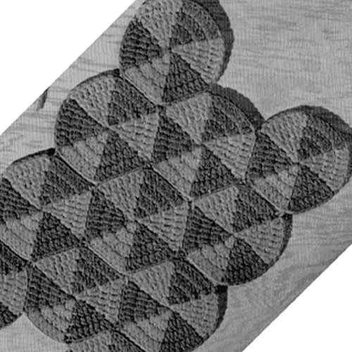 Triangle Motif Crochet Afghan Pattern