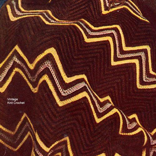 Vintage Crochet Afghan Pattern, Ripple Variation