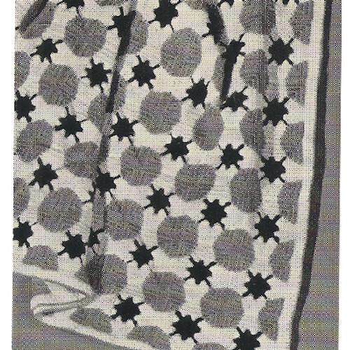 Mardi Gras Crocheted Afghan Pattern