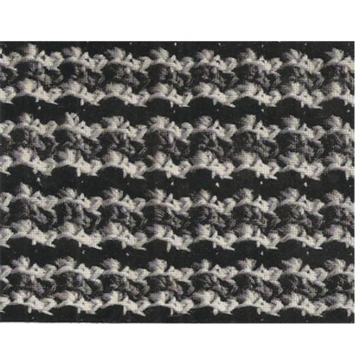 Vintage Navaho Stripe Crochet Panel