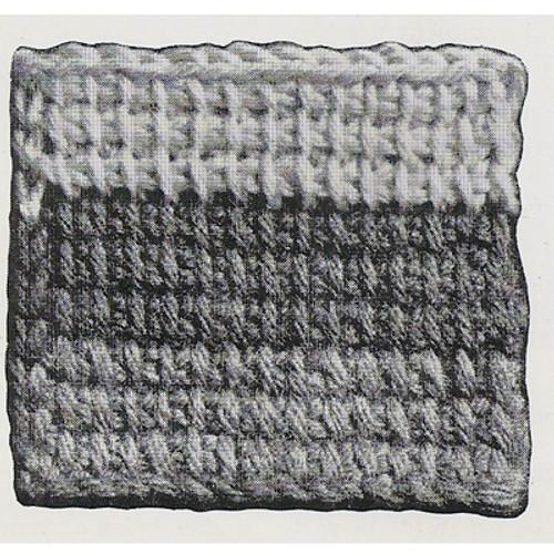 Crochet Jacobs Ladder Square Detail
