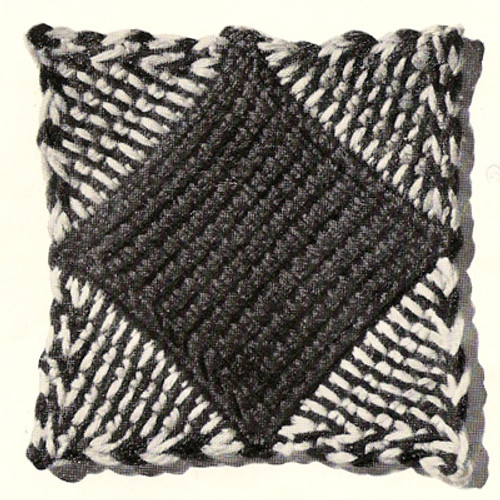 Patchwork Crochet Square pattern for afghan