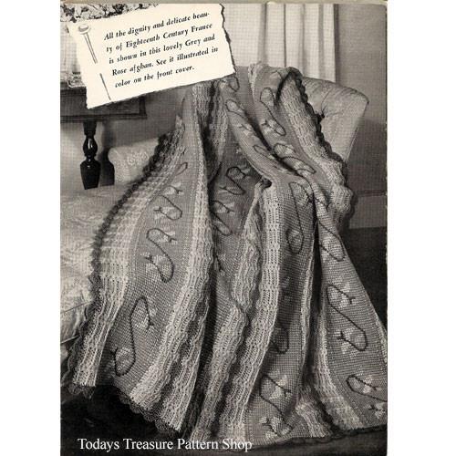 Old Versailes Crochet Afghan pattern