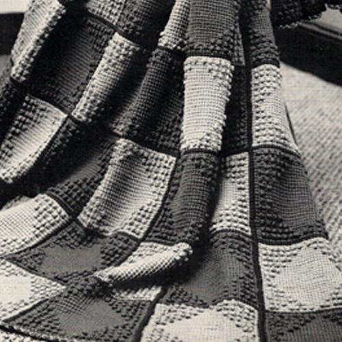 Crochet Afghan Cape Cod Pattern