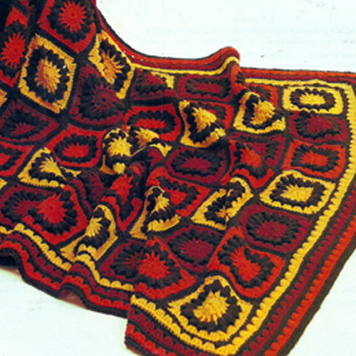 Spinnerin Crocheted Afghan pattern