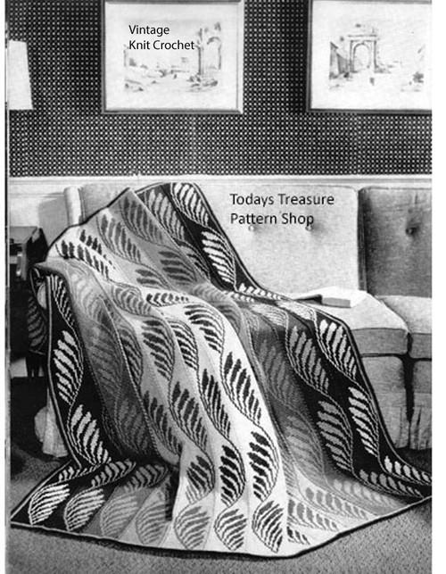 Easy Crochet Blanket Pattern, Bernat 3922