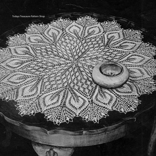 Large Viennese Lace Cloth Pattern Hannah