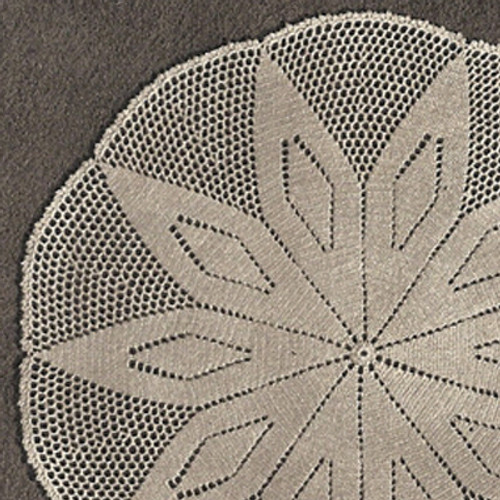 Vintage Crochet Diamond Star Doily Pattern