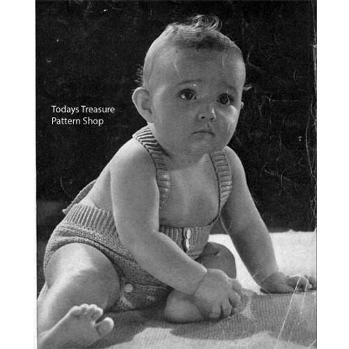 Baby Rompers Crochet Pattern