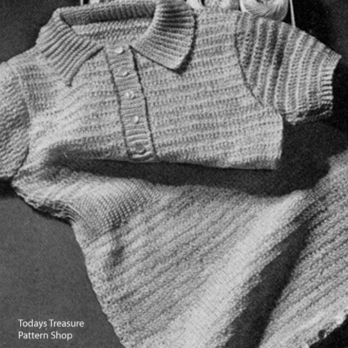 Crocheted Rompers Pattern, Short Sleeves