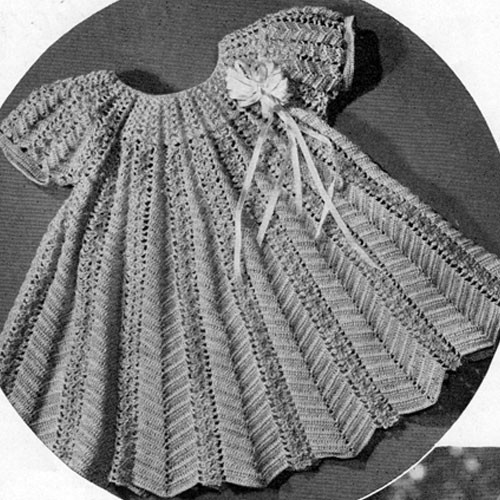 Toddler Crocheted Dress Pattern