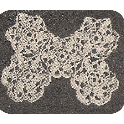 Crochet Doily Section Detail