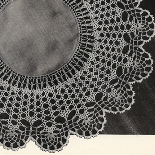 Vintage Victoriana Crocheted Doily Pattern