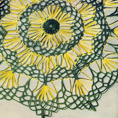 Easy Crochet Doily Pattern from Coats & Clarks