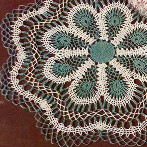Vintage Lagoon Doily Crochet Pattern