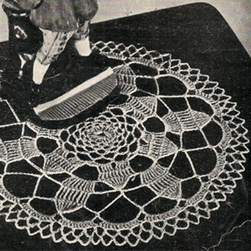 Free Small Crocheted Doily Pattern from Coats & Clarks