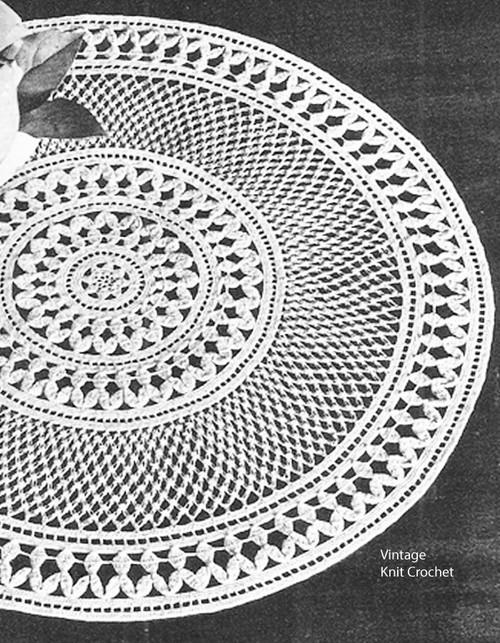 Vintage Enchantment Crochet Doily Pattern