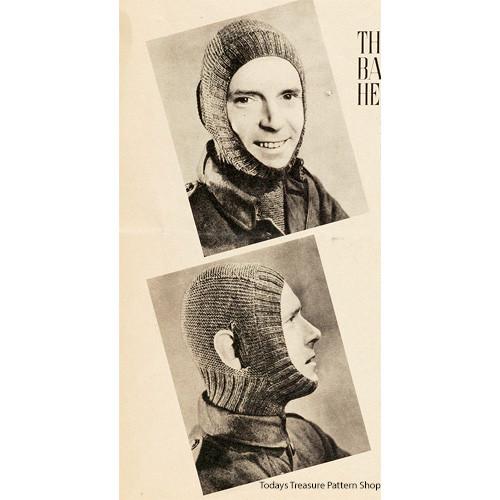 Mans Military Knitted Helmet Pattern